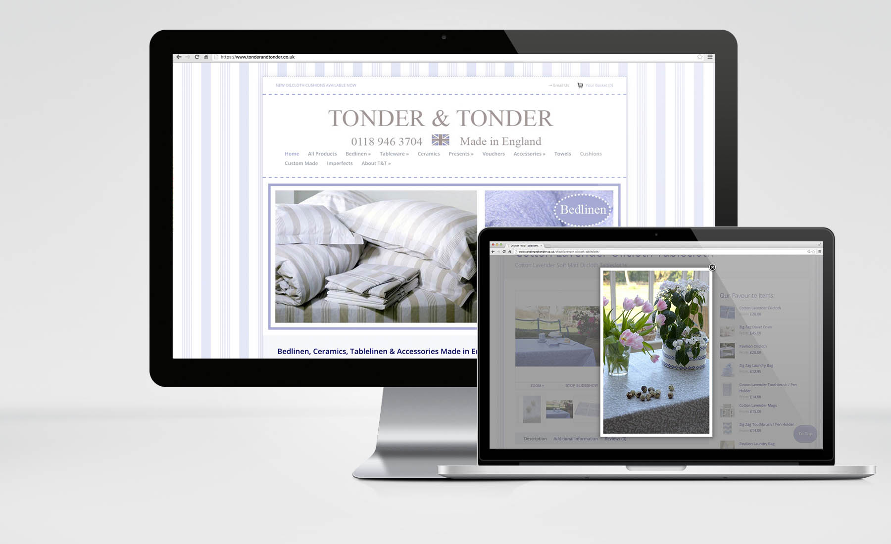 Tonder & Tonder – eCommerce Solution