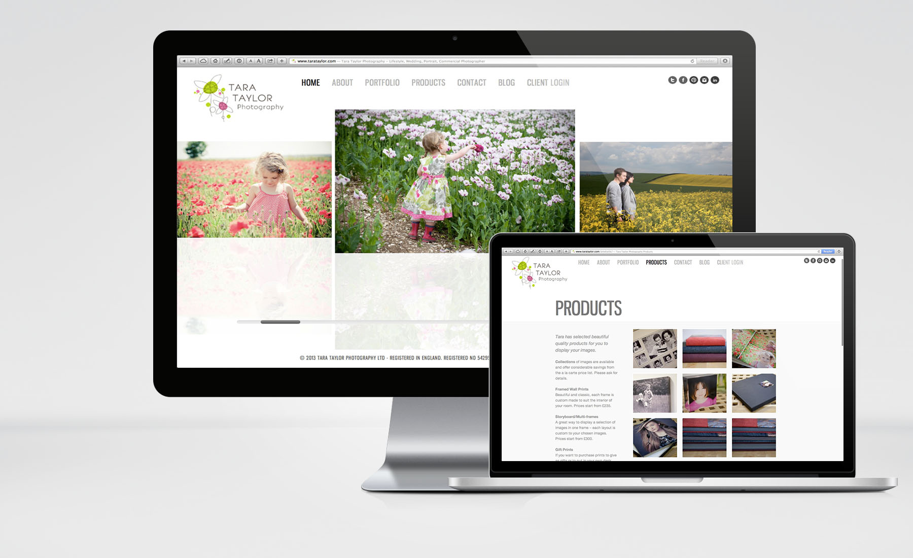 Tara Taylor Photography – Website