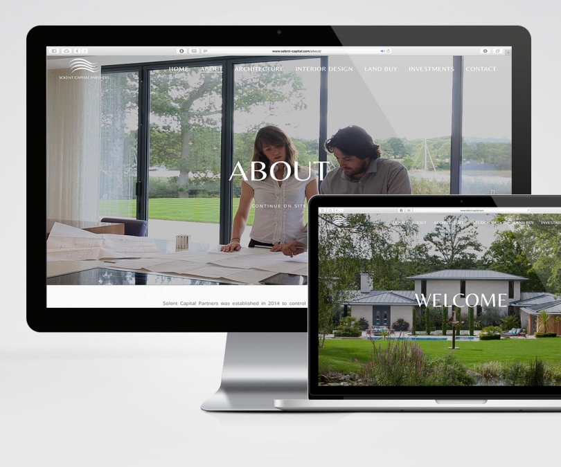 Solent Capital Partners – Website Design