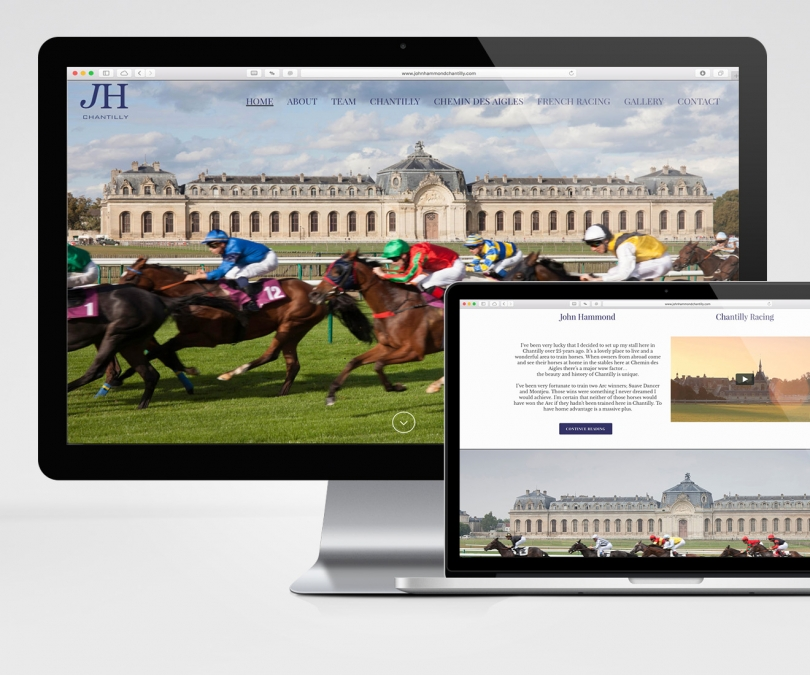 John Hammond Chantilly – Website Design