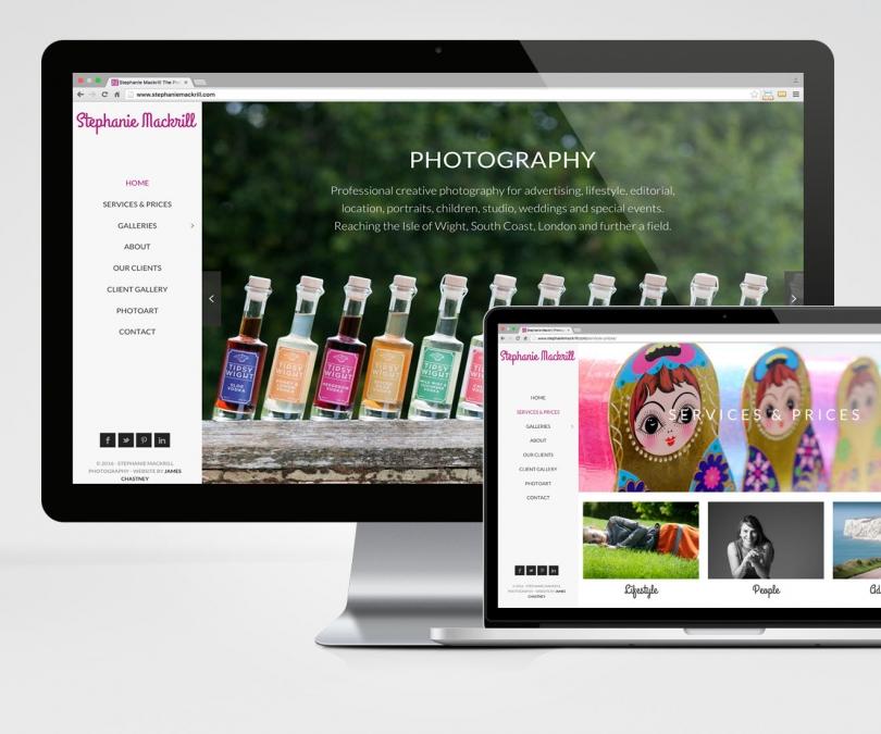 Stephanie Mackrill – Website Design & IT